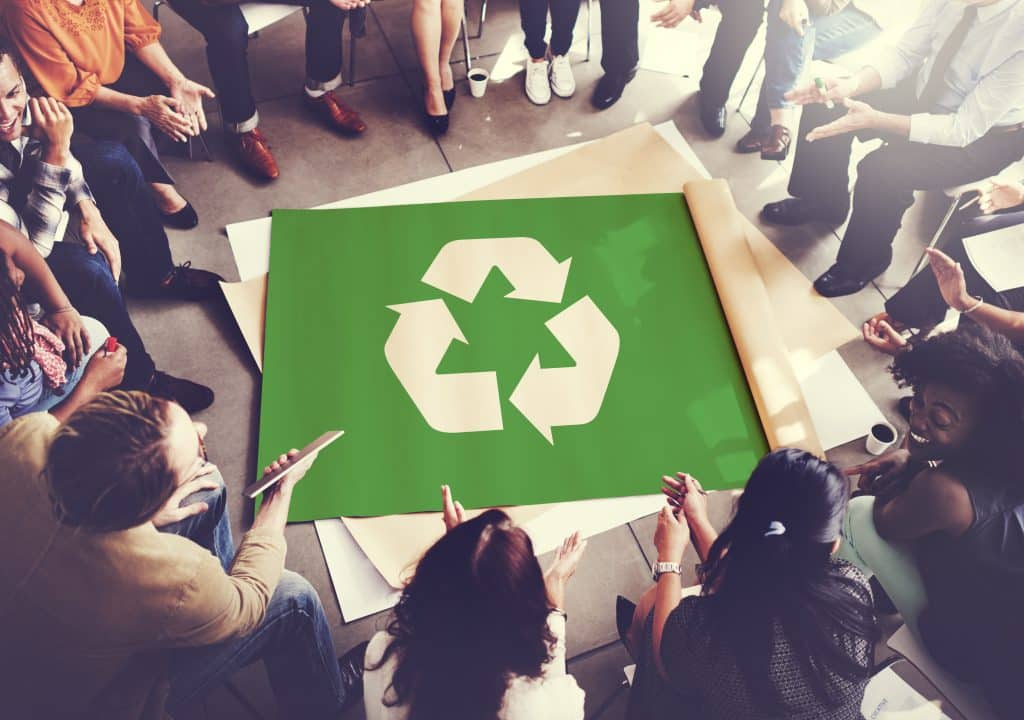 Creating a Recycling Plan for a Better Year at Work